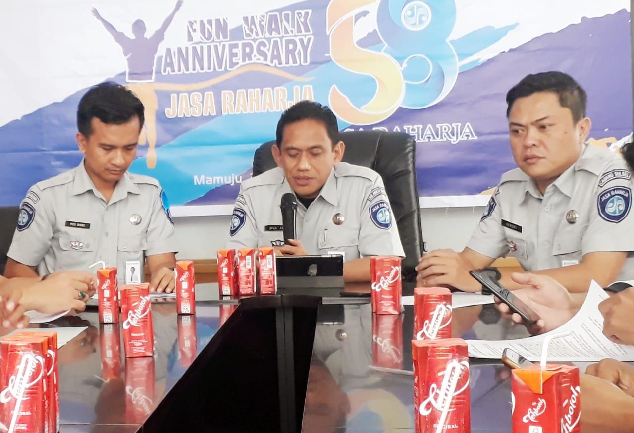 Jasa Raharja Sulselbar Kucur Bantuan di Mamuju, Sinjai, Makassar dan Gowa