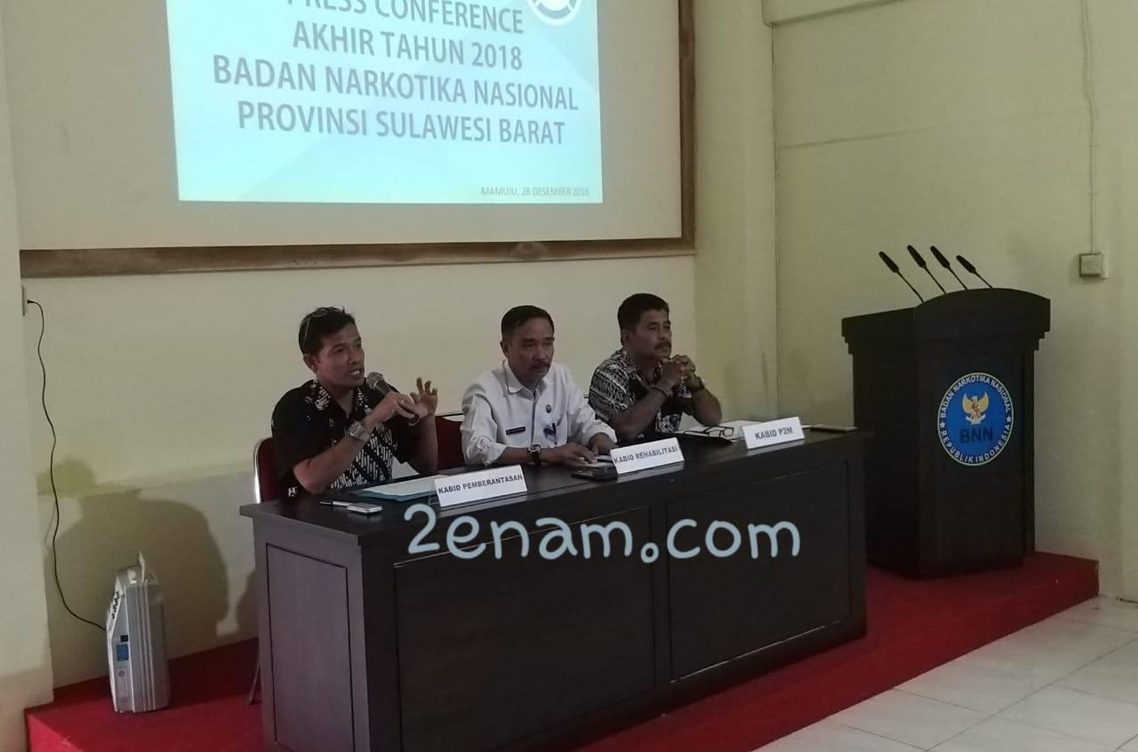 BNNP Sulbar Melampaui Target di Tahun 2018