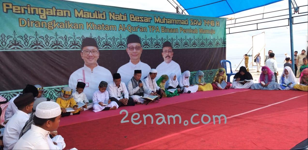 Rangkaian Peringatan Pergantian Tahun, Khatam Qur'an dan Maulid Nabi Sukses Digelar