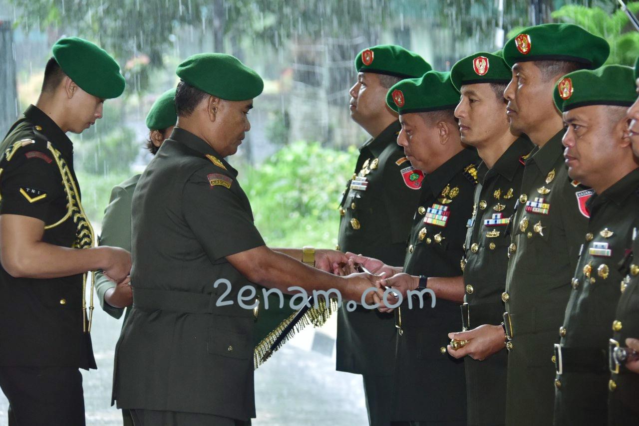Komandan Korem 142 Taro Ada Taro Gau Berganti