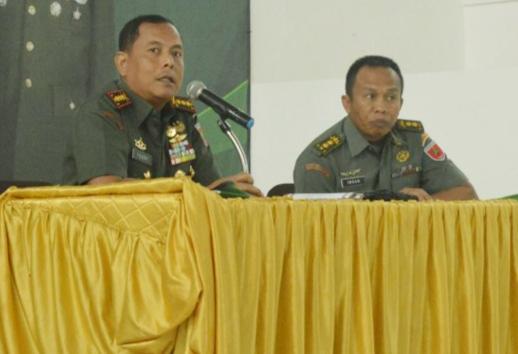 Danrem : Prajurit TNI Harus Netral di Pemilu 2019