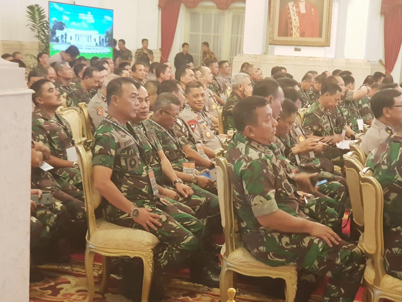 Sukseskan Pemilu 2019 Kapolda Sulbar Ikuti Rapim TNI/POLRI