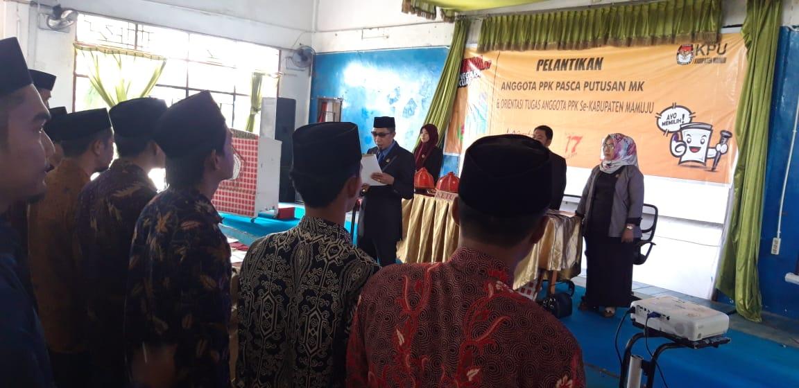 Panitia Pemilihan Kecamatan di Mamuju Bertambah