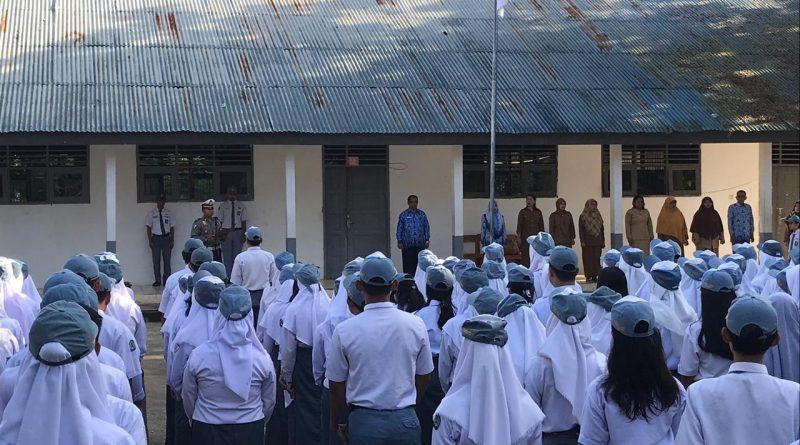 Ditlantas Polda Sulbar Distribusikan Kupon MRSF ke 16 Sekolah