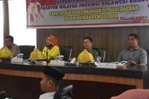 Wagub Sulbar : Keberhasilan Pemilu 2019 Tanggungjawab bersama