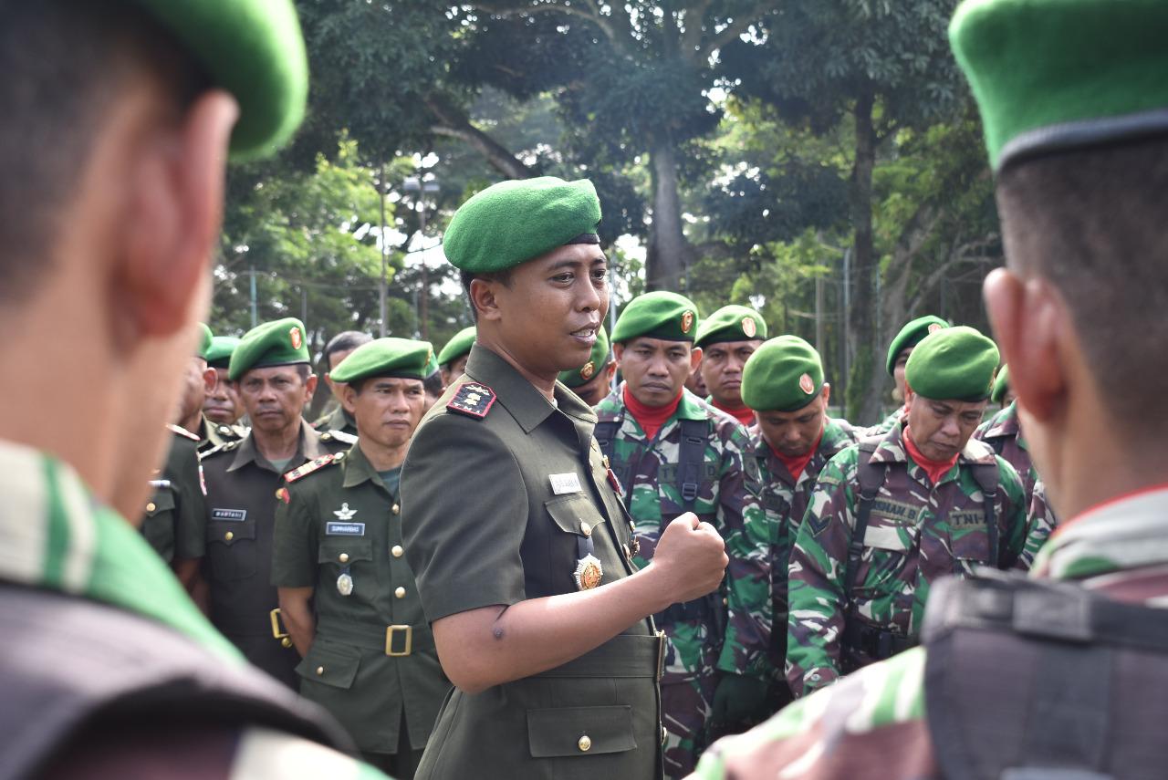 Dandim Polmas Ingatkan Netralitas TNI di Pemilu