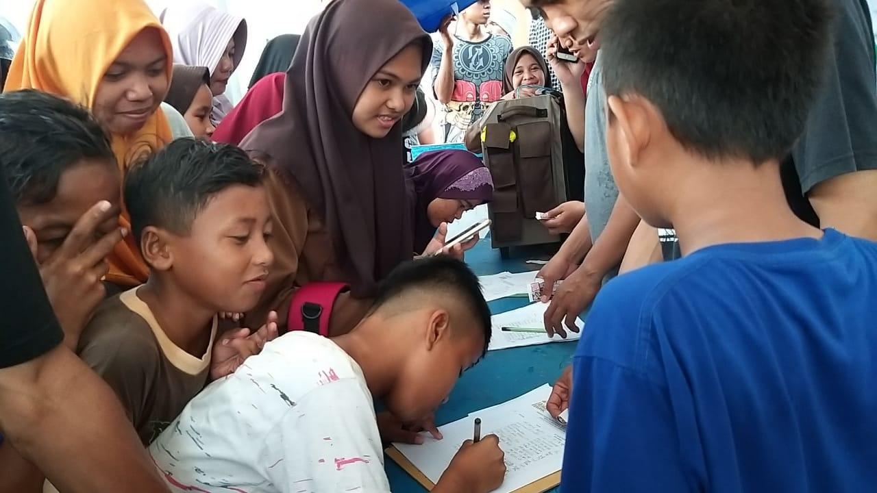 Antusiasme Masyarakat Tinggi Terhadap MRSF 2019, Ditlantas Polda Sulbar akan Terus Melayani