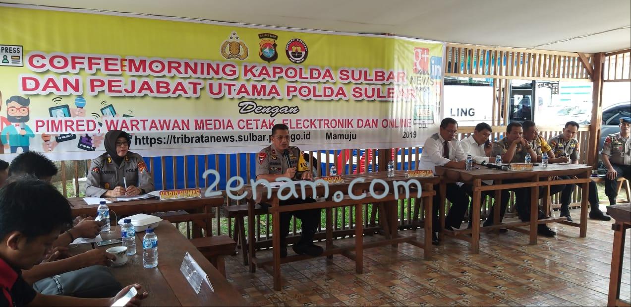 Kapolda Sulbar Tepis MRSF 2019 Sarat Politik