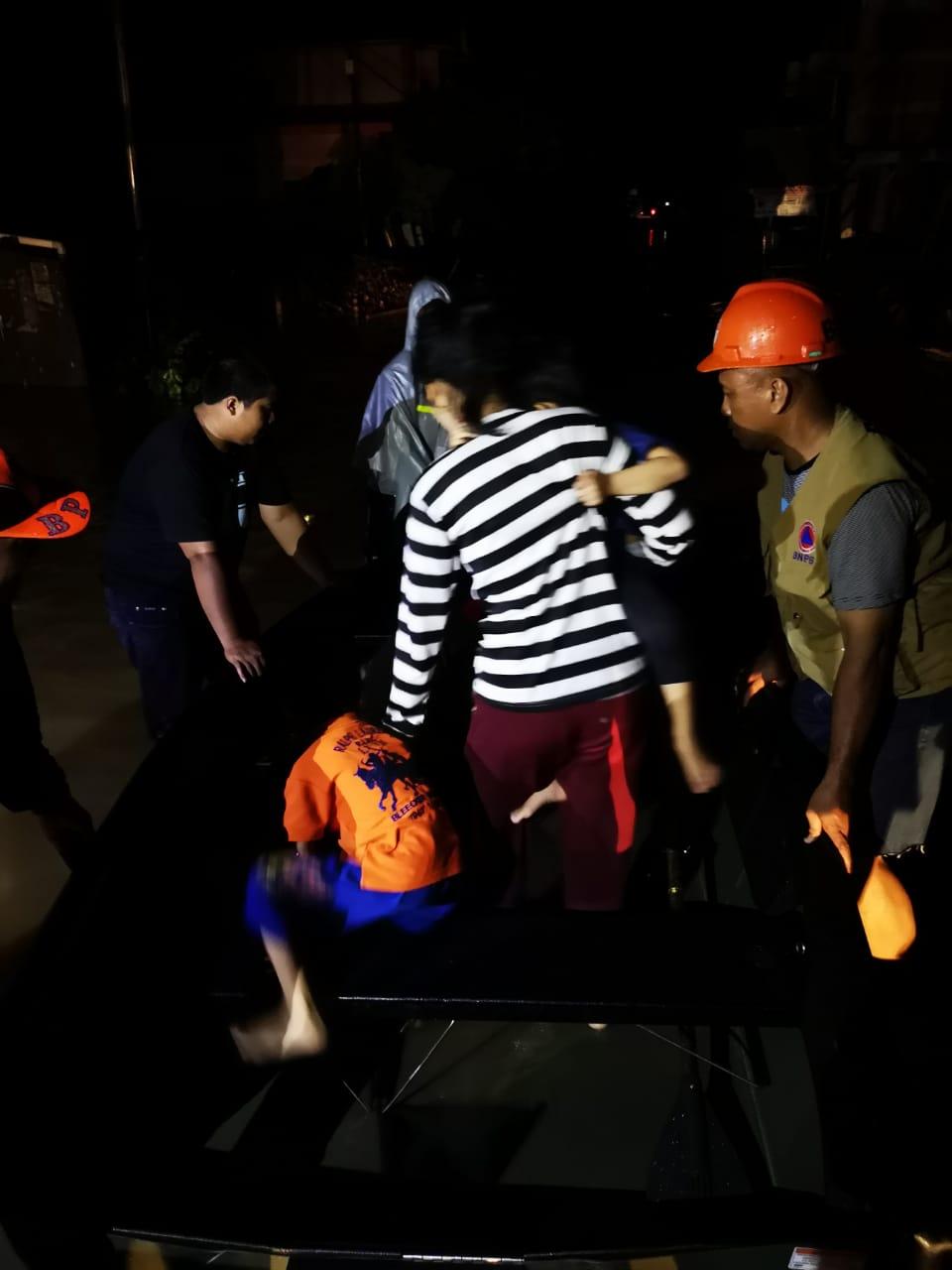 Dandim 1418/Mamuju Tinjau Lokasi Banjir di Kalukku
