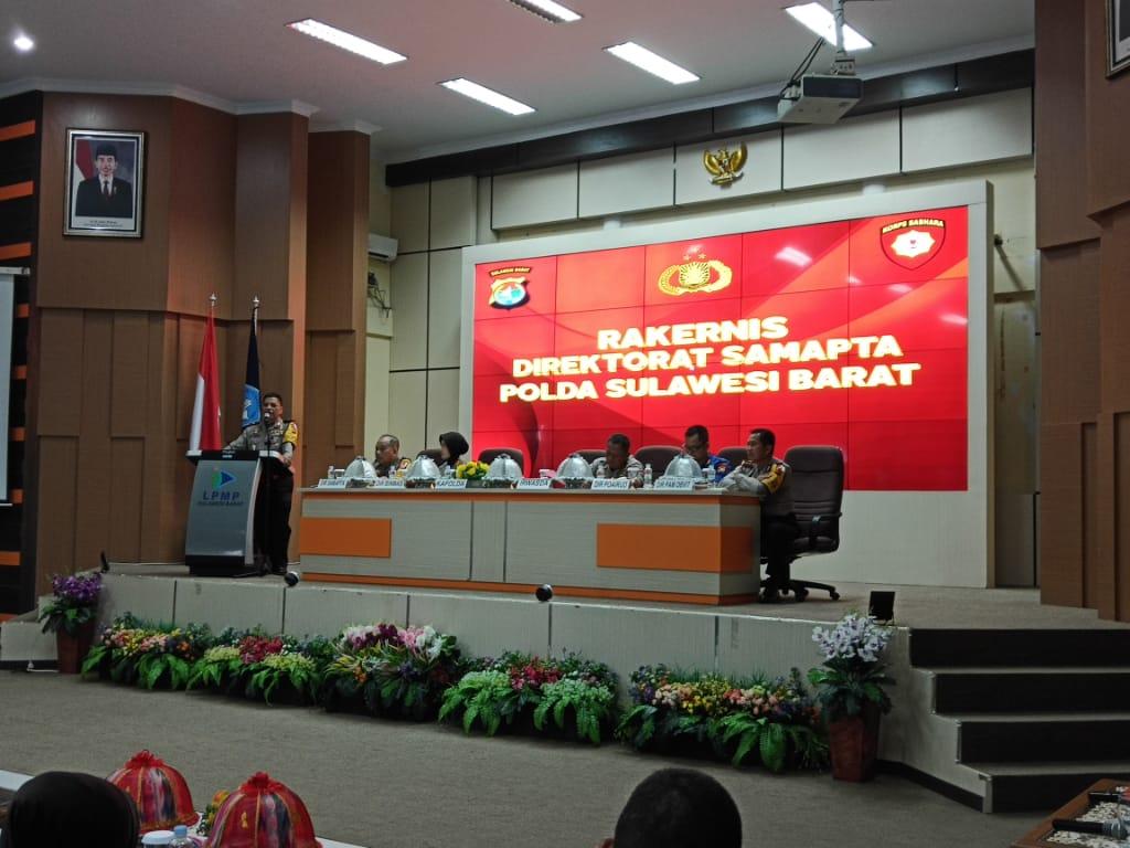 Kapolda Buka Rakernis Fungsi Baharkam Jajaran Polda Sulawesi Barat