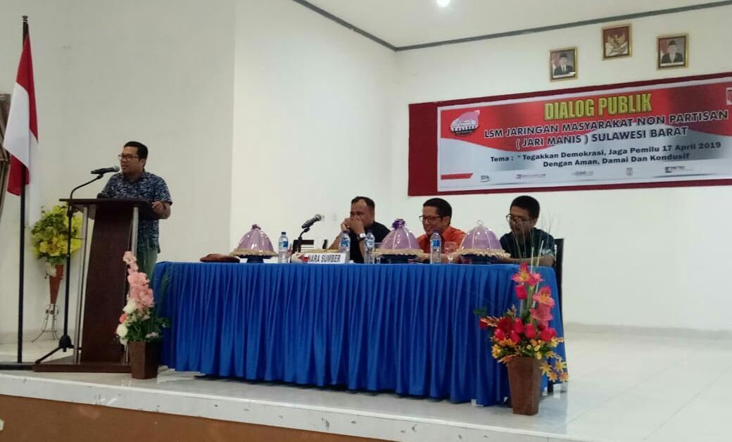 LSM Jari Manis Gelar Dialog Publik Terkait Pemilu Damai