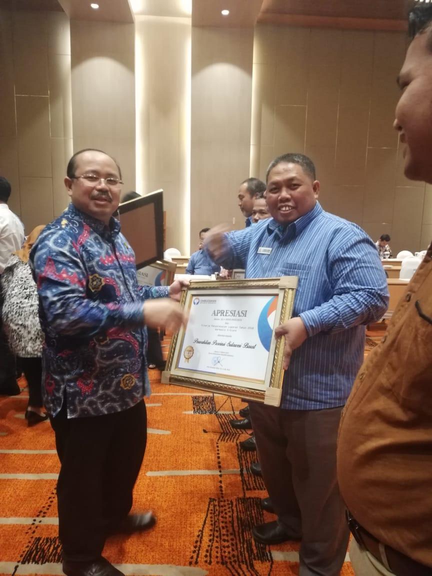 Masuk 5 Besar Kinerja Terbaik, Ombudsman Sulbar Terima Apresiasi Pimpinan