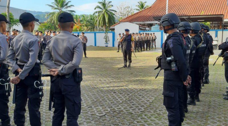Kasat Brimob : Siaga Pemilu,  Pahami Tugas di Lapangan