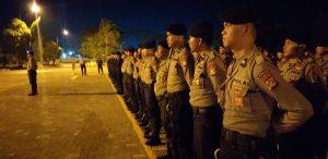 Usai Melaksanakan Tugas, 209 Personil yang BKO PMJ di Sambut Langsung Kapolda Sulbar.