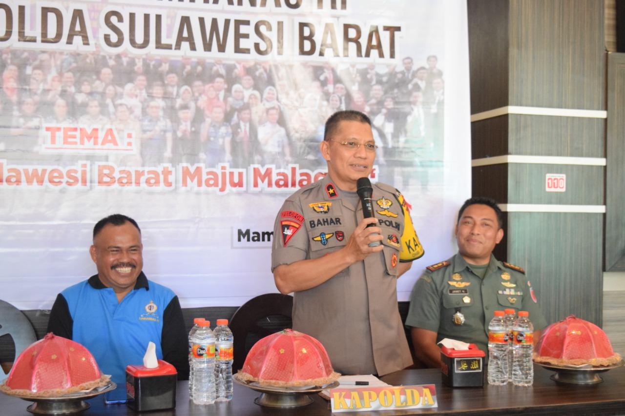 Ngopi Kebangsaan, Kapolda Sulbar Bersama Alumni Taplai Lemhanas RI