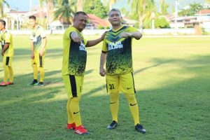 Semarak Hari Bhayangkara Polda Sulbar Juga Dimeriahkan Dengan Turnamen Sepak Bola