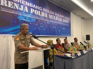 Musrembang Polda Sulbar Peningkatan Profesionalisme Polri Melalui Sistem Pemerintah Berbasis Elektronik.