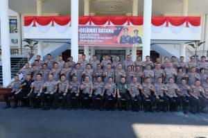 Kapolda Sulbar Hadiri Anev Mantap Brata di Manado