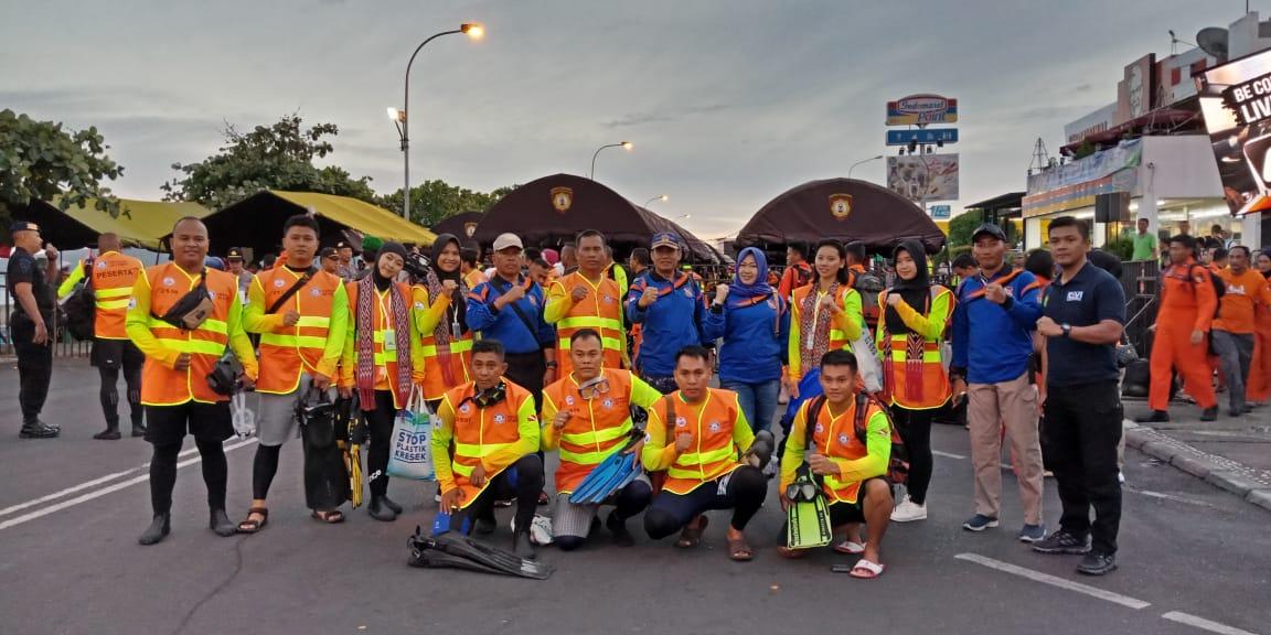 Dihadiri Langsung Kapolda, 22 Penyelam Asal Polda Sulbar Ambil Bagian Pecahkan Rekor Dunia Menyelam di Manado