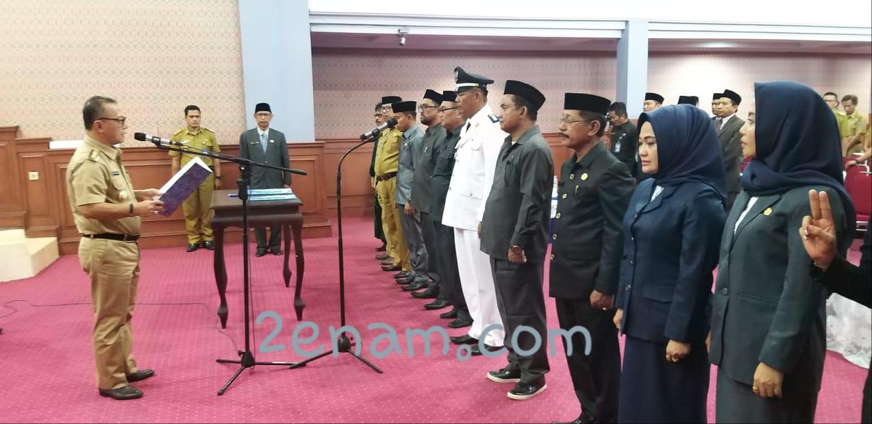 Rusdianto, S.AgDitunjuk Sebagai PLT Kepala Dinas Transmigrasi Mamuju