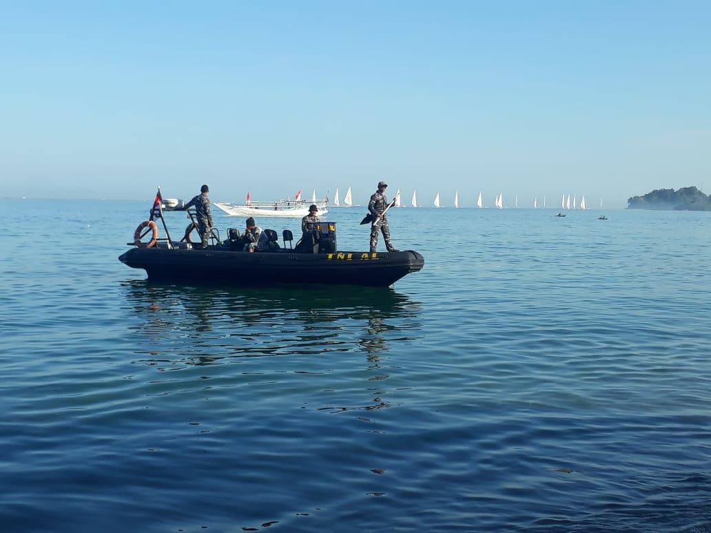 Sea Rider Setia Laksanakan Pengamanan Sandeq Race