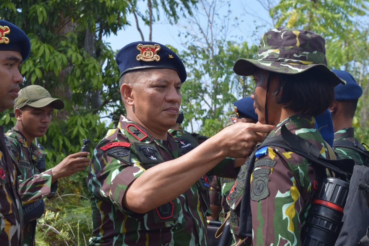 34 Bintara Remaja Ikuti Tradisi Pembaretan Satuan Brimob Polda Sulbar.