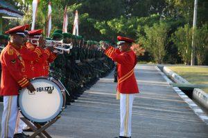 Kasrem 142 Tatag IRUP Peringatan HUT Kemerdekaan RI Ke 74