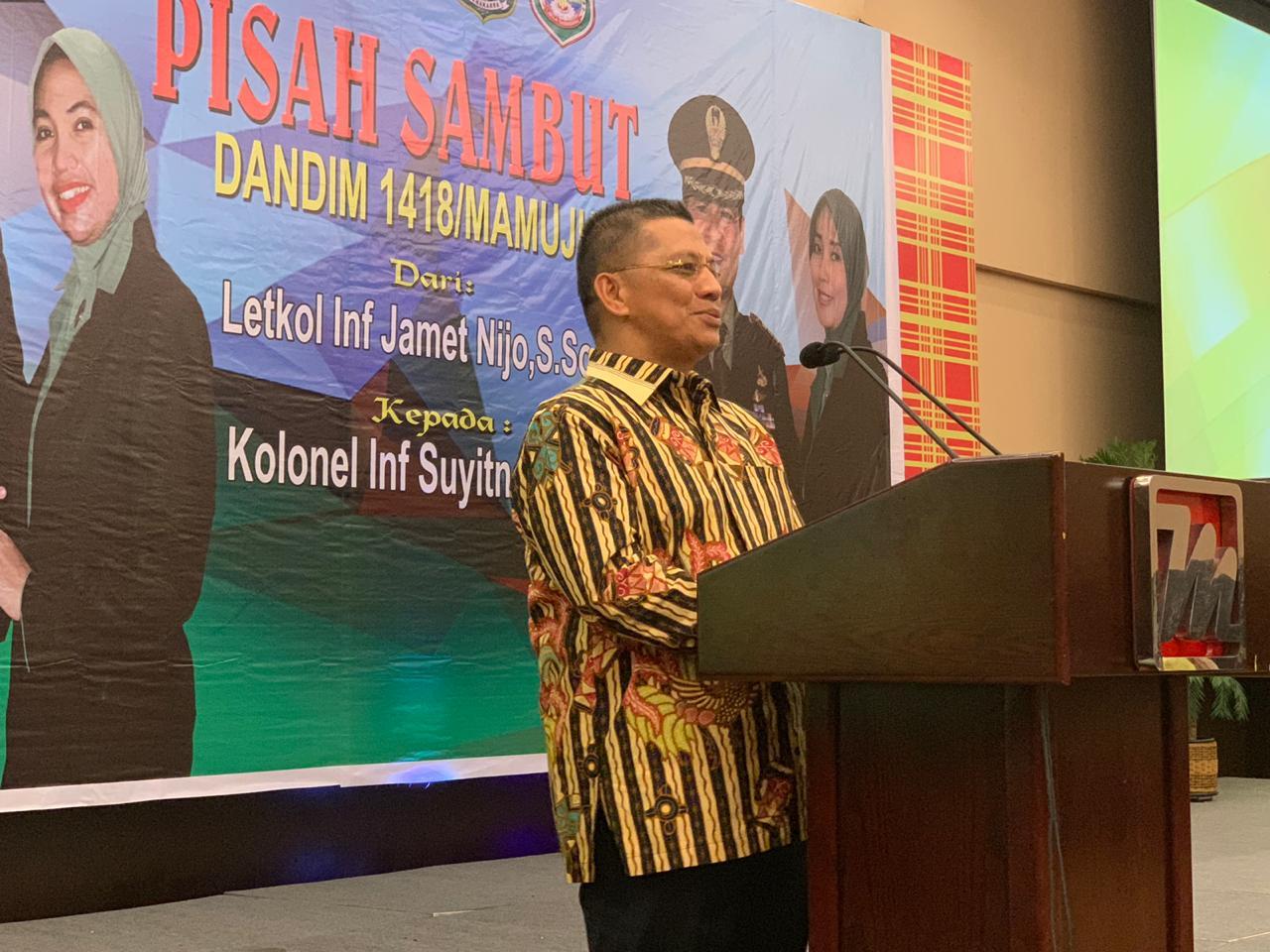 Kapolda Sulbar ; Sinergitas TNI Polri Tetap Harus Terjaga.