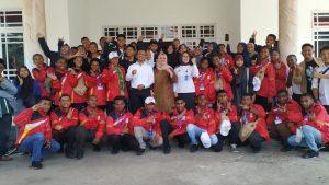 Irwan Pababari Silaturahmi dengan SMN Asal Papua Barat