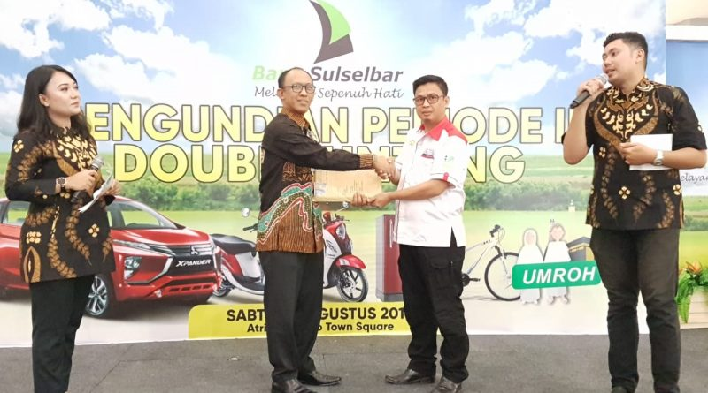 "Bank Sulselbar Undi Program  ""Double Untung"""