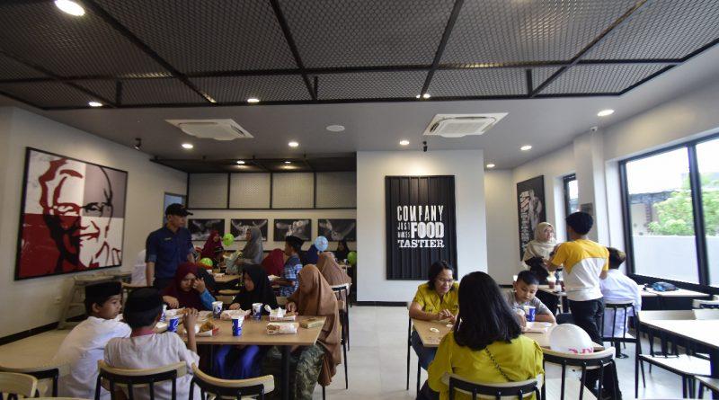 KFC Bintang Mamuju ke 720 Resmi Beroperasi
