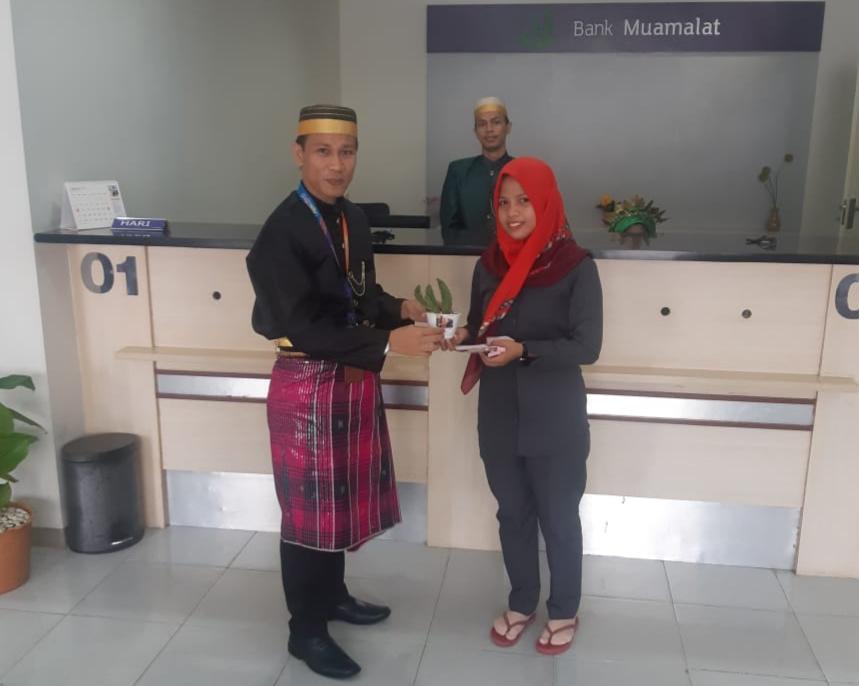Hari Pelanggan Nasional Bank Muamalat Cabang Mamuju Beri Layanan Berbeda