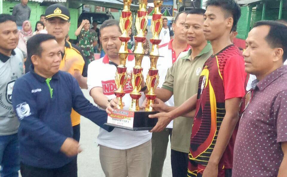 Pertandingan Volly Ball Dandim Cup 2019 Ditutup