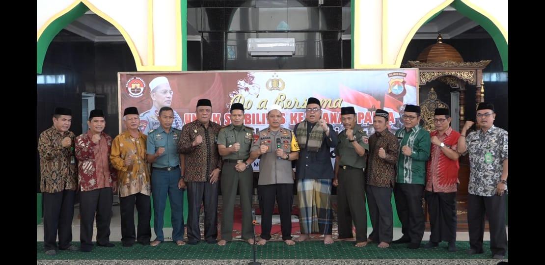 Polda Sulbar Gelar Deklarasi Damai Untuk Indonesiaku, Damailah Papuaku.