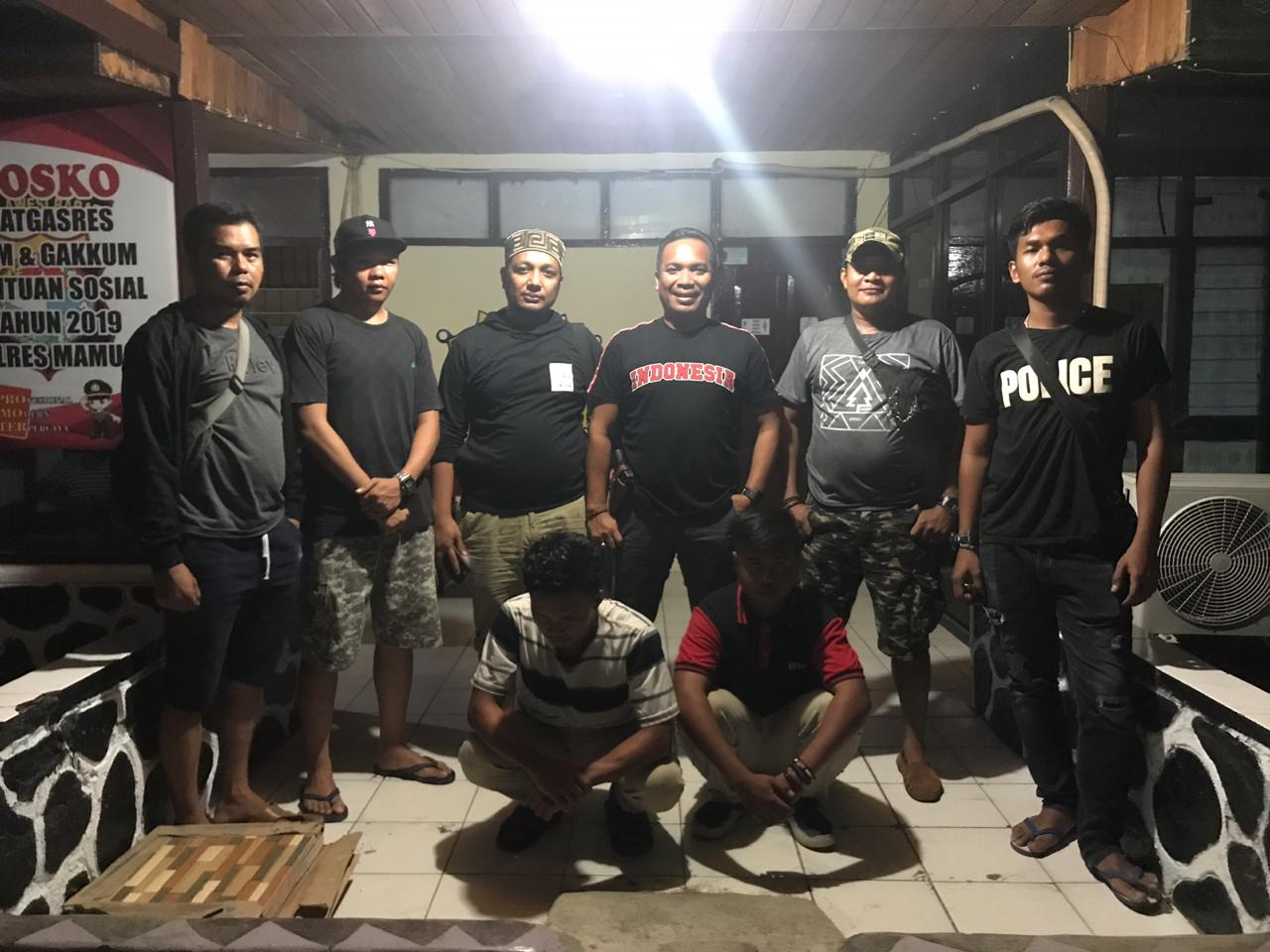Dalam Tempo Tiga Jam, Tim Python Polres Mamuju Ringkus Pelaku Pembunuhan
