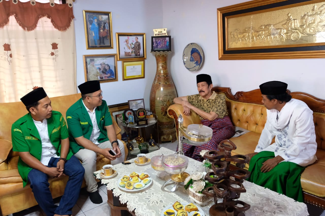 GP Ansor Sambangi Raja Mamuju H Andi Maksum DAI