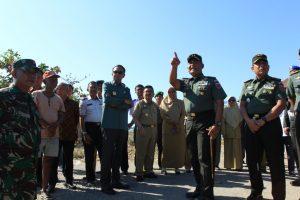 Pangdam XIV/HSN Dan Gubernur Sulsel Serta Danrem 142/TTG Kunjungi Istana Luwu