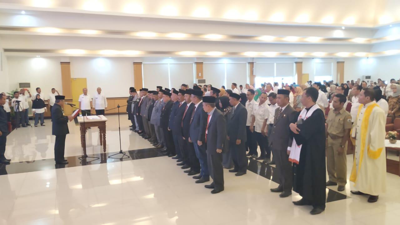 15 Pejabat Eselon II Dilantik Gubernur Sulbar