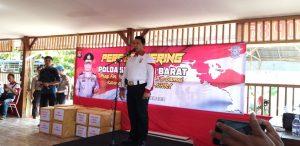 Polda Sulbar Gelar Press Gathering Dukung Papua Damai
