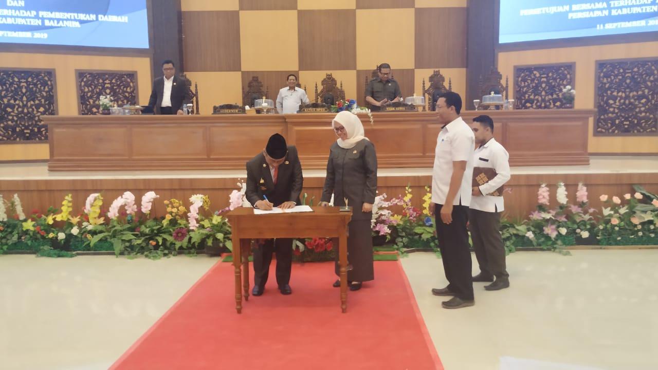 Pembentukan Kabupaten Balanipa Disepakati