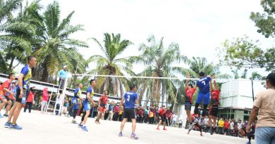 Tim VB Korem 142/TATAG Juara Pertadingan Volly  Hut Sulbar