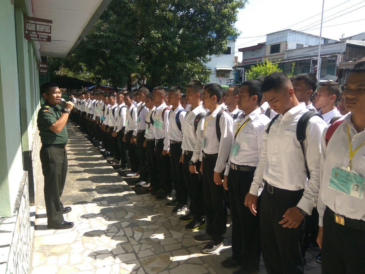 176 Peserta Bintara PK TNI - AD Sub Panda Mamuju, Ikuti Seleksi Tingkat Pusat