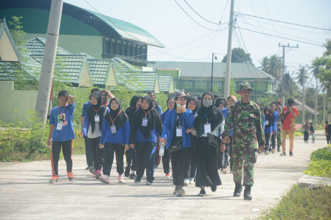 Mahasiswa Poltekkes Lakukan Masa Orientasi Di Makorem 142/Tatag