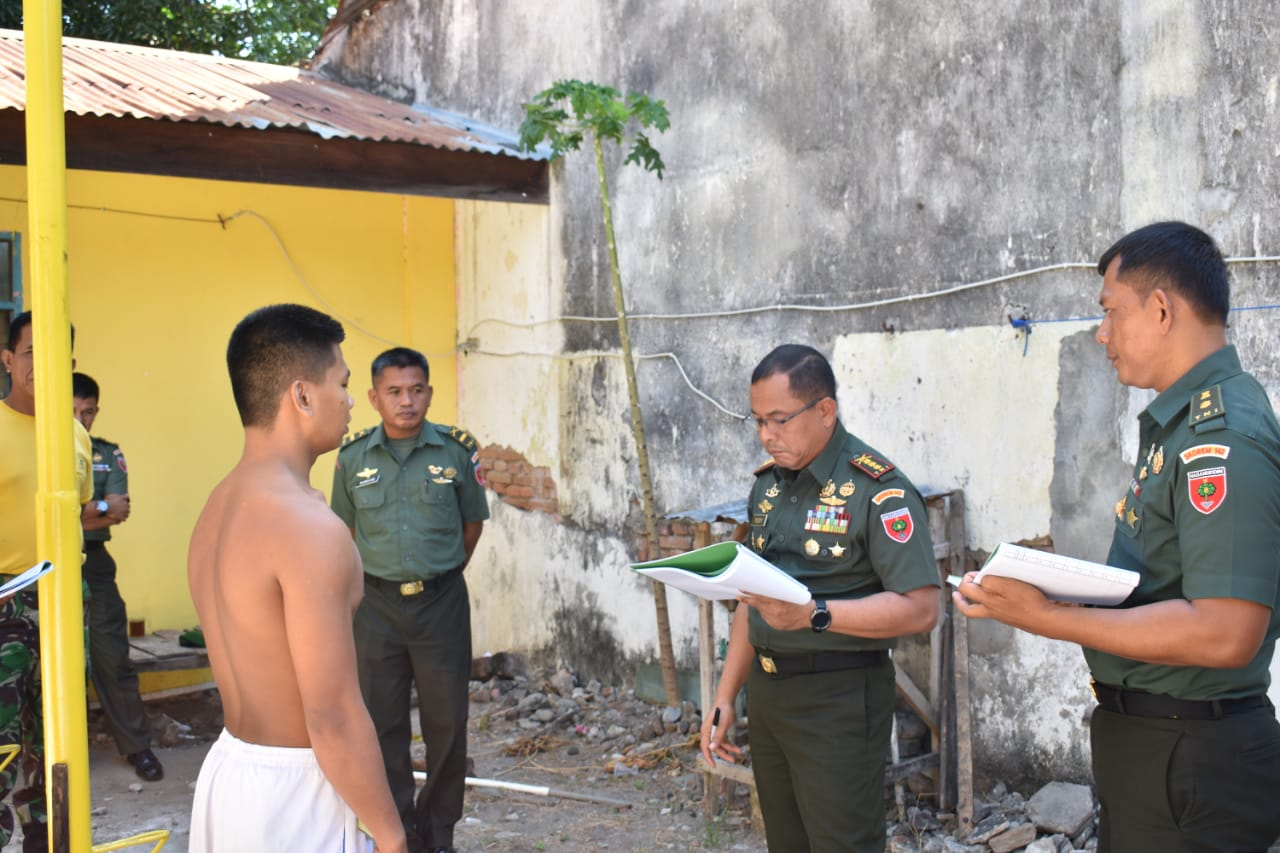 176 Peserta Calon Bintara PK TNI - AD Sub Panda Mamuju Lulus Ikut Seleksi Tingkat Pusat