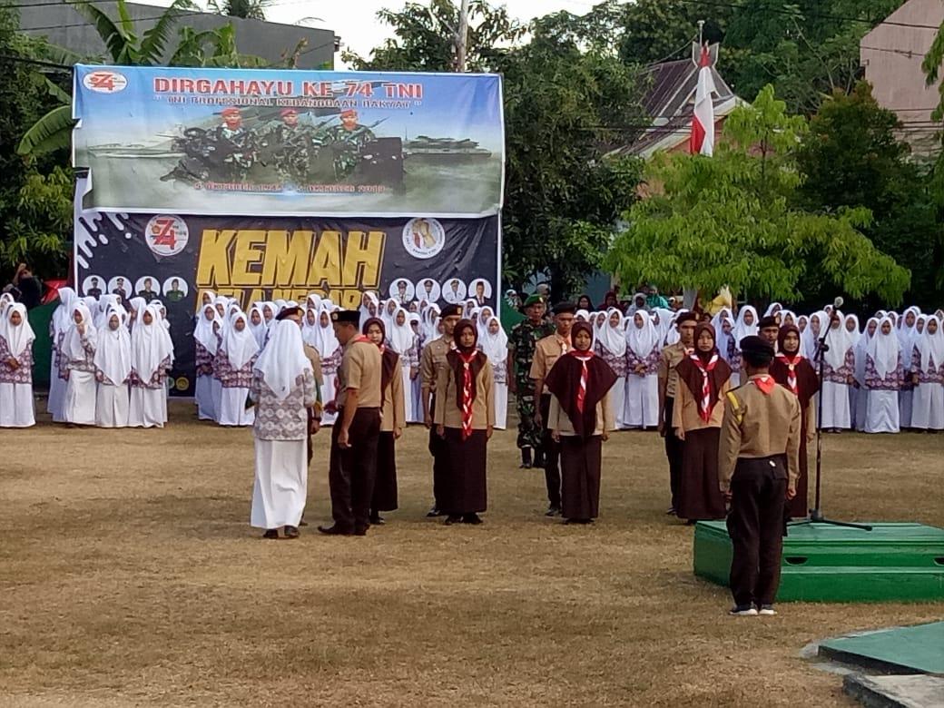 Kodim 1419/Enrekang Gelar Kemah Bela Negara tingkat SMA/SMK
