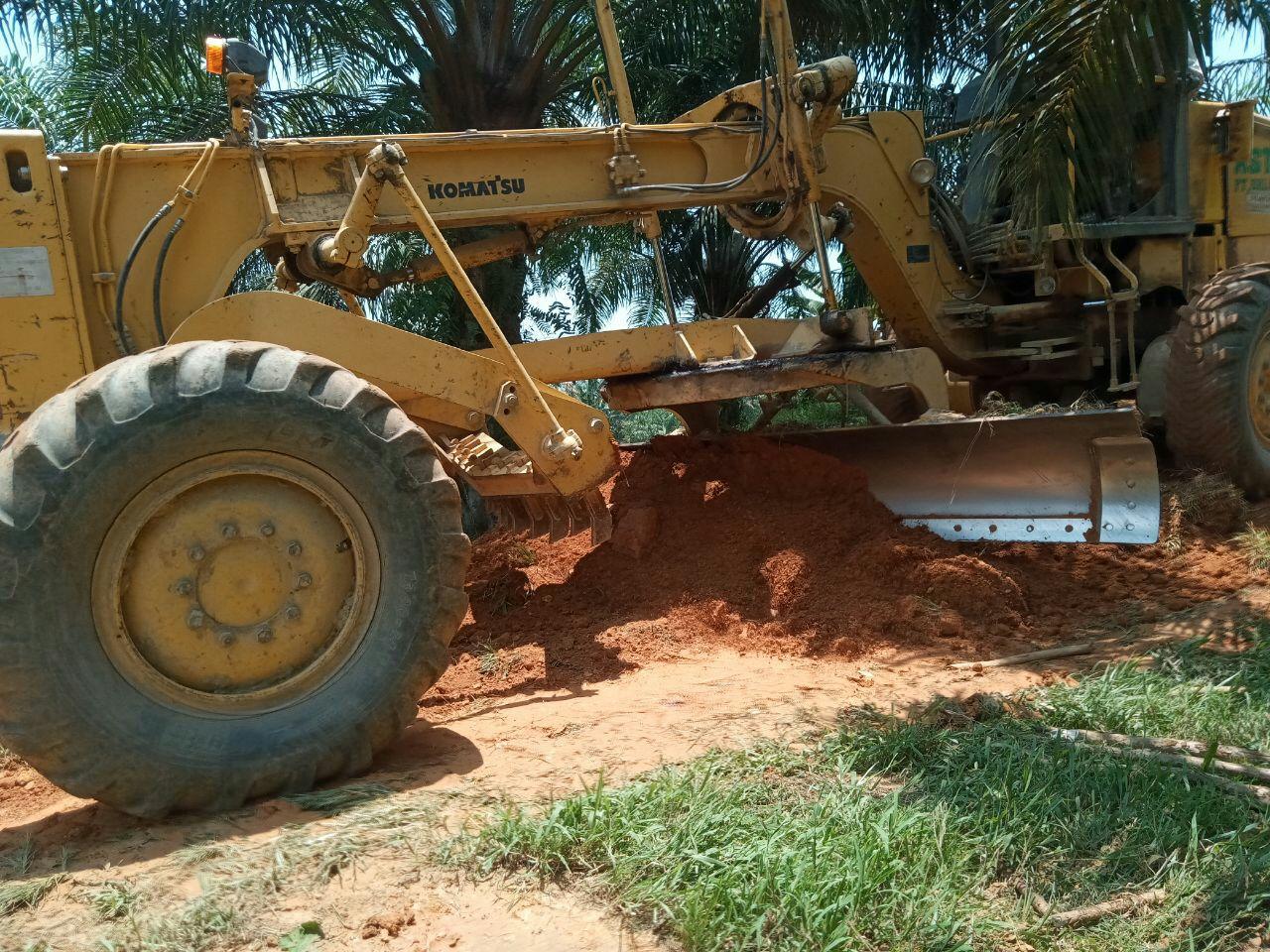 Peningkatan Jalan Desa Sanjango Sudah Mencapai 300 Meter