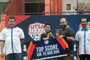 Tim Futsal Putri Mas Umum Mamuju Juara 3 di Linus