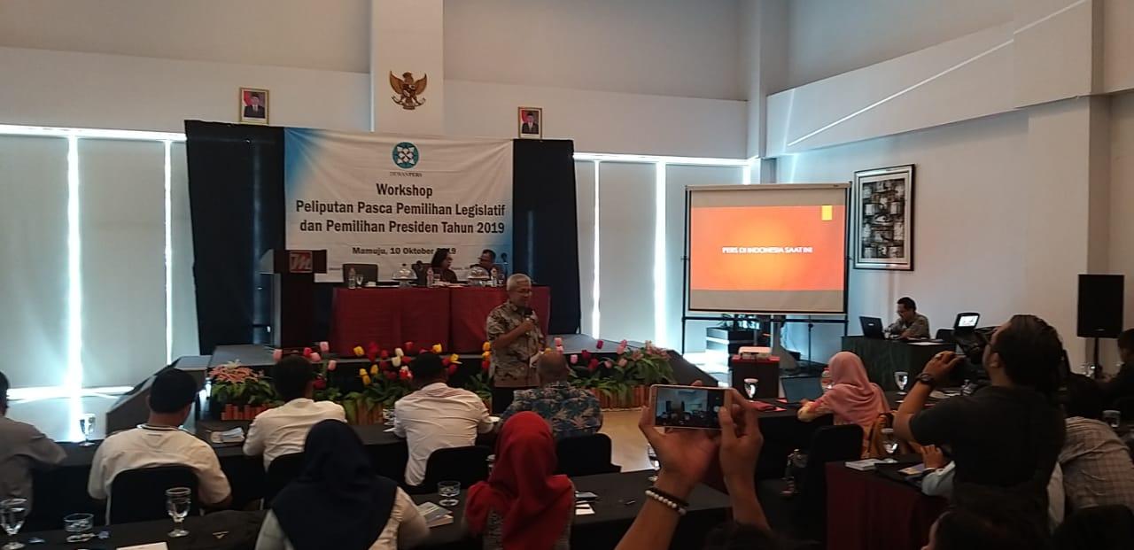 Dewan Pers Gelar Workshop Peliputan Pemilu 2019