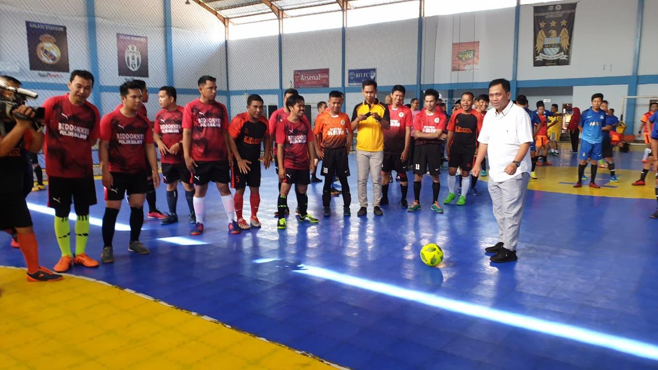 Kabid Humas, Selamat ya Tim Futsal Wartawan Muda Juarai Kapolda Sulbar Cup.