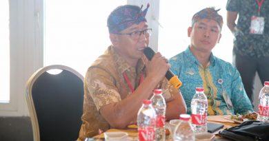 Kadis Kominfo  Persandian dan Statistik Sulbar Hadiri Rakornas Pejabat Kehumasan